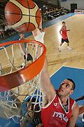 DESCRIZIONE : Bormio Ritiro Nazionale Italiana Maschile Preparazione Eurobasket 2007 Allenamento <br /> GIOCATORE : Andrea Crosariol<br /> SQUADRA : Nazionale Italia Uomini EVENTO : Bormio Ritiro Nazionale Italiana Uomini Preparazione Eurobasket 2007 GARA : <br /> DATA : 27/07/2007 <br /> CATEGORIA : Allenamento Special<br /> SPORT : Pallacanestro <br /> AUTORE : Agenzia Ciamillo-Castoria/S.Silvestri <br /> Galleria : Fip Nazionali 2007 <br /> Fotonotizia : Bormio Ritiro Nazionale Italiana Maschile Preparazione Eurobasket 2007 Allenamento <br /> Predefinita :