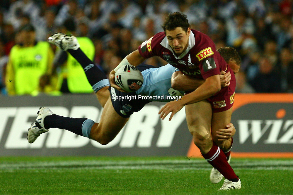 NSW v Queensland. State of Origin game 1. Rugby league. ANZ Stadium, Sydney, Australia. 21 May 2008.