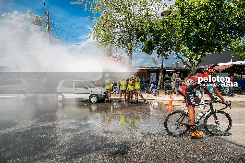 Le Tour De Langkawi 2015/Stage 1 - Langkawi Round Island/99.2km/Sky Dive Dubai/Meher Hasnaoui