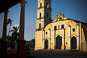 San Juan Batista church in Remedios, Cuba on Friday July 18, 2008.