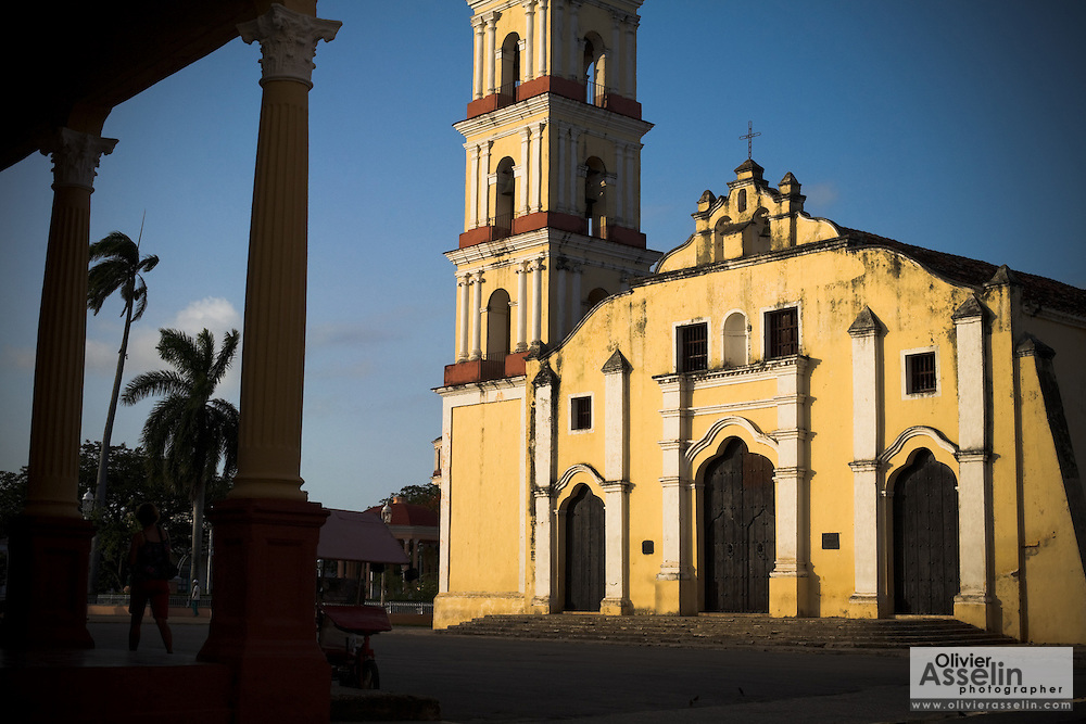 San Juan Batista church in Remedios, Cuba on Friday July 18, 2008.