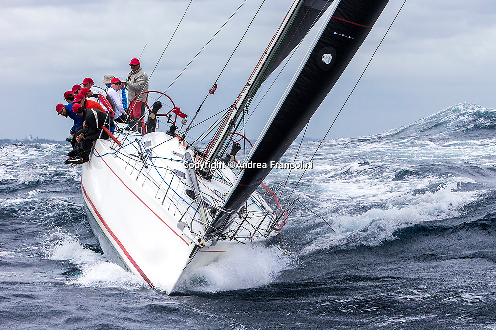 Sailing - Australian IRC Championship 2017<br /> Cruising Yacht Club of Australia<br /> Sydney<br /> 23/3/2017<br /> NINE DRAGONS