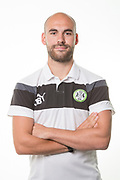 Forest Green Rovers physio Joe Baker during the Forest Green Rovers Photocall at the New Lawn, Forest Green, United Kingdom on 31 July 2017. Photo by Shane Healey.