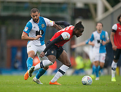 Bradley Johnson of Blackburn Rovers (L) and Pelly Ruddock of Luton Town in action - Mandatory by-line: Jack Phillips/JMP - 28/09/2019 - FOOTBALL - Ewood Park - Blackburn, England - Blackburn Rovers v Luton Town - English Football League Championship