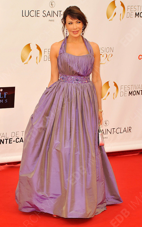 10.JUNE.2012. MONACO<br /> <br /> HUNTER TYLO ATTENDS THE OPENING CEREMONY OF THE 52ND MONTE CARLO TELEVISION FESTIVAL HELD AT THE GRAMALDI FORUM.  <br /> <br /> BYLINE: EDBIMAGEARCHIVE.CO.UK<br /> <br /> *THIS IMAGE IS STRICTLY FOR UK NEWSPAPERS AND MAGAZINES ONLY*<br /> *FOR WORLD WIDE SALES AND WEB USE PLEASE CONTACT EDBIMAGEARCHIVE - 0208 954 5968*