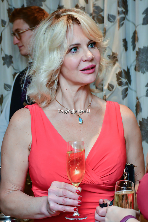 Inge Neaves attend Rochay High Society Soiree with Jovoy at Westbury Mayfair grafton suite on 21 November 2019, London, UK.
