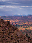 Overlooking the Egypt Bench, Escalante River, Grand Staircase-Escalante National Monument, Kane County, Utah