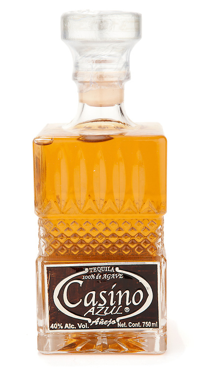 Casino Azul Añejo Tequila -- Image originally appeared in the Tequila Matchmaker: http://tequilamatchmaker.com