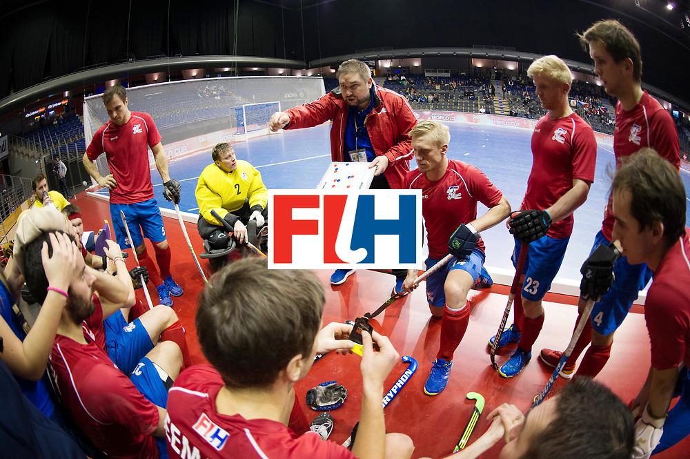 BERLIN - Indoor Hockey World Cup<br /> Men: Australia - Czech Republic<br /> foto: TRONIČEK Petr.<br /> WORLDSPORTPICS COPYRIGHT FRANK UIJLENBROEK