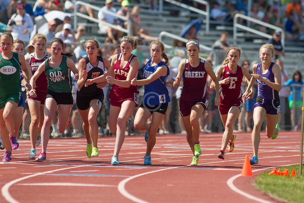 girls 800 meters,
