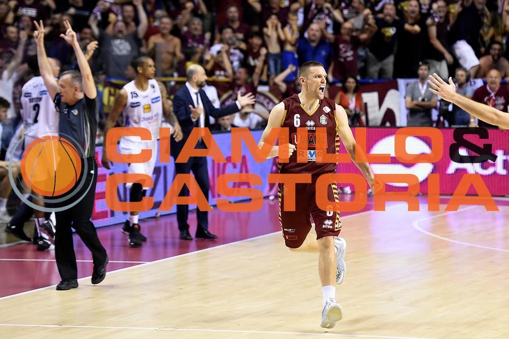 Michael Bramos<br /> Umana Reyer Venezia - Dolomiti Energia Aquila Basket Trento<br /> Lega Basket Serie A 2016/2017<br /> Playoff, finale gara 5<br /> Venezia, 18/06/2017<br /> Foto M.Ceretti / Ciamillo-Castoria