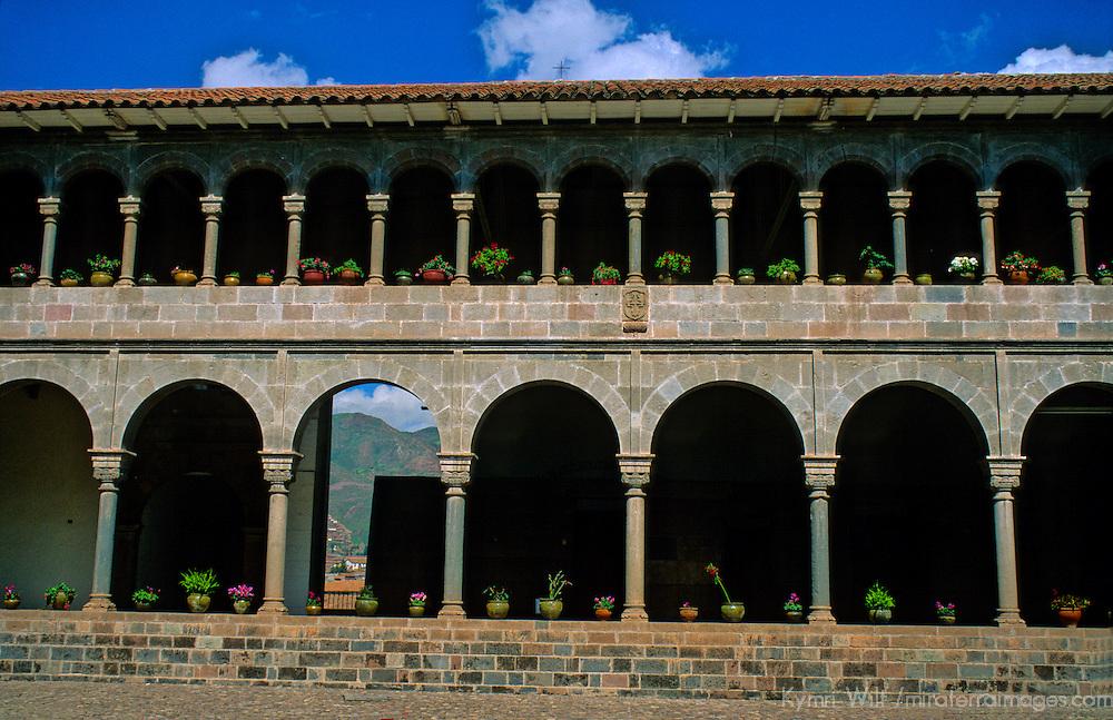 South America, Peru, Cusco. Korikancha, Santo Domingo Convent