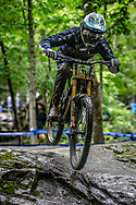 FORESTA Joseph (USA) at the Mountain Bike World Championships in Mont-Sainte-Anne, Canada.