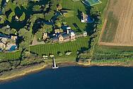 New York, Sagaponack, Sagaponack Pond, Long Island, South Fork