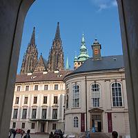 Matthias Gate, the doorway to the II courtyard.