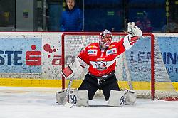 25.01.2019, Ice Rink, Znojmo, CZE, EBEL, HC Orli Znojmo vs Moser Medical Graz 99ers, 41. Runde, im Bild Tomas Halasz (HC Orli Znojmo) // during the Erste Bank Eishockey League 41th round match between HC Orli Znojmo and Moser Medical Graz 99ers at the Ice Rink in Znojmo, Czechia on 2019/01/25. EXPA Pictures © 2019, PhotoCredit: EXPA/ Rostislav Pfeffer