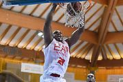 DESCRIZIONE : Bormio Lega A 2014-15 amichevole Ea7 Olimpia Milano - Stings Mantova<br /> GIOCATORE : Samardo Samuels<br /> CATEGORIA : schiacciata<br /> SQUADRA : Ea7 Olimpia Milano<br /> EVENTO : Valtellina Basket Circuit 2014<br /> GARA : Ea7 Olimpia Milano - Stings Mantova<br /> DATA : 04/09/2014<br /> SPORT : Pallacanestro <br /> AUTORE : Agenzia Ciamillo-Castoria/R.Morgano<br /> Galleria : Lega Basket A 2014-2015  <br /> Fotonotizia : Bormio Lega A 2014-15 amichevole Ea7 Olimpia Milano - Stings Mantova<br /> Predefinita :