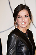 102618 Queen Letizia attends the screening of the film 'Safety Last!'