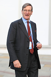 © Licensed to London News Pictures . 03/10/2017. Manchester, UK. Dominic Grieve at the start of day three of the Conservative Party Conference at the Manchester Central Convention Centre . Photo credit: Joel Goodman/LNP