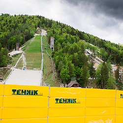 20140514: SLO, Nordic Ski - Building of Nordic centre in Planica