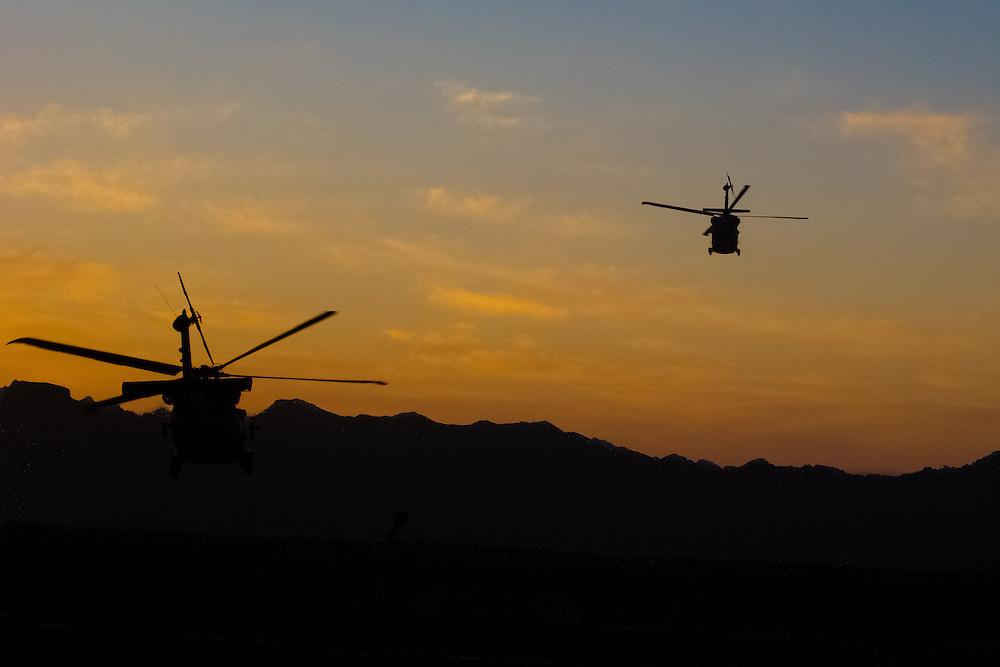 Christmas Day.Uruzgan Provine, Afghanistan