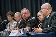 The Rev. Marcus Zill, director of Campus Ministry and LCMS U in the Office of National Mission, speaks during a panel discussion at the Let's Talk Life, Marriage and Religious Liberty event on Wednesday, Sept. 9, 2015, in Washington, D.C. LCMS Communications/Erik M. Lunsford