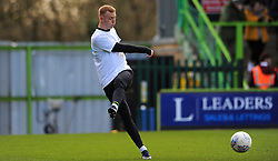 Nathan McGinley of Forest Green Rovers warms up- Mandatory by-line: Nizaam Jones/JMP - 08/02/2020 - FOOTBALL - New Lawn Stadium - Nailsworth, England - Forest Green Rovers v Walsall - Sky Bet League Two