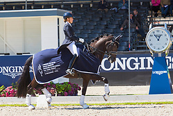 Maas Lynne, NED, Electra<br /> Longines FEI/WBFSH World Breeding Dressage Championships for Young Horses - Ermelo 2017<br /> © Hippo Foto - Leanjo de Koster<br /> 03/08/2017
