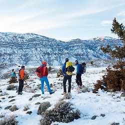 Ice Climbing in Cody, Wyoming