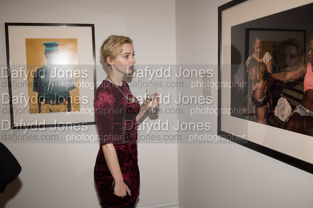 THOMASIN LUCKWOOD, Private view of the Taylor Wessing Portrait prize, National Portrait Gallery, London.  15 November 2016