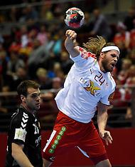 20160118 Montenegro-Danmark  EHF EURO 2016 Mens Handball - Poland