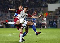 Fotball<br /> Frankrike 2003/04<br /> Strasbourg v Paris St. Germain<br /> 1. mai 2004<br /> Foto: Digitalsport<br /> NORWAY ONLY<br /> <br /> PAULETA (PSG) / CEDRIC KANTE (STR)