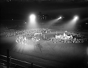 An Tostal - Rehearsal for St. Patrick's Pageant at Croke Park.05/05/1955
