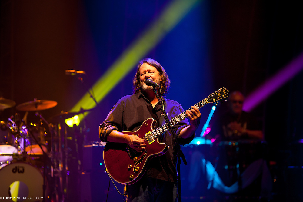 John Bell rof Widespread Panic performs at the Wiltern Theatre on July 12, 2011 in Los Angeles, CA.