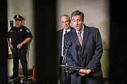 Former lawyer and fixer for Donald Trump,Michael Cohen, leaves the congressional hearing on March 6th 2019.