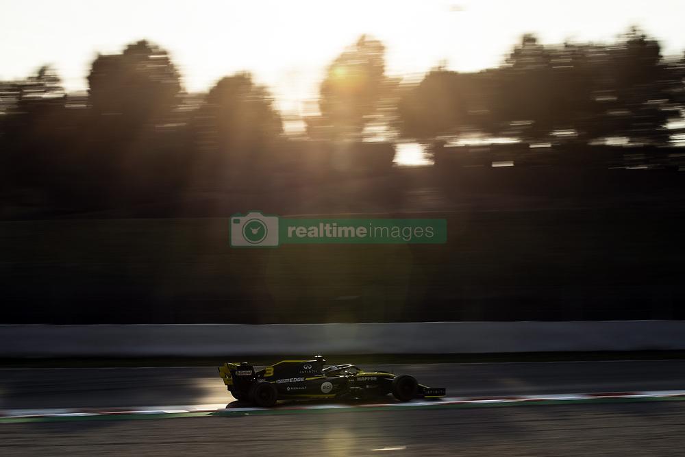 February 28, 2019 - Barcelona, Catalonia, Spain - Daniel Ricciardo from Australia with 03 Renault F1 Team RS19 in action   during the Formula 1 2019 Pre-Season Tests at Circuit de Barcelona - Catalunya in Montmelo, Spain on February 28. (Credit Image: © Xavier Bonilla/NurPhoto via ZUMA Press)