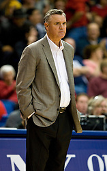 February 27, 2010; San Jose, CA, USA;  Fresno State Bulldogs head coach Steve Cleveland during the second half against the San Jose State Spartans at The Event Center.  San Jose State defeated Fresno State 72-45.