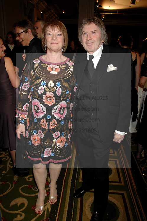 Writer JAMES HERBERT and his wife at the Galaxy British Book Awards 2007 - The Nibbies held at the Grosvenor house Hotel, Park Lane, London on 28th March 2007.<br /><br />NON EXCLUSIVE - WORLD RIGHTS