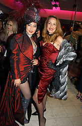 Left to right, PATTI WONG and JERRY HALL at Andy & Patti Wong's annual Chinese New year Party, this year to celebrate the Year of The Pig, held at Madame Tussauds, Marylebone Road, London on 27th January 2007.<br />