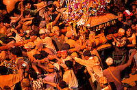 Nepal - Vallée de Kathmandu - Ville de Thimi - Fête de Balkumari Jatra