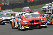 Stephen Jelley - Team Parker Racing - BMW 125i M Sport battles it out during the British Touring Car Championship (BTCC) at  Brands Hatch, Fawkham, United Kingdom on 7 April 2019.