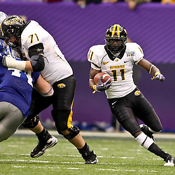 Dec 20, 2009; New Orleans, LA, USA; Southern Miss Golden Eagles running back Tory Harrison (11) runs with the ball during the second half of the 2009 New Orleans Bowl at the Louisiana Superdome. Middle Tennessee State defeated Southern Miss 42-32. Mandatory Credit: Derick E. Hingle-US PRESSWIRE