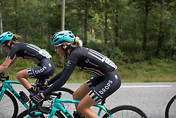 Anna Christian (GBR) of Drops Cycling Team rides mid-pack on Stage 2 of the Ladies Tour of Norway - a 140.4 km road race, between Sarpsborg and Fredrikstad on August 19, 2017, in Ostfold, Norway. (Photo by Balint Hamvas/Velofocus.com)
