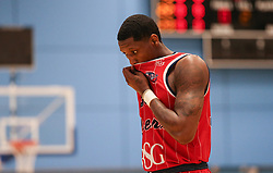 Fred Thomas of Bristol Flyers - Photo mandatory by-line: Arron Gent/JMP - 28/04/2019 - BASKETBALL - Surrey Sports Park - Guildford, England - Surrey Scorchers v Bristol Flyers - British Basketball League Championship