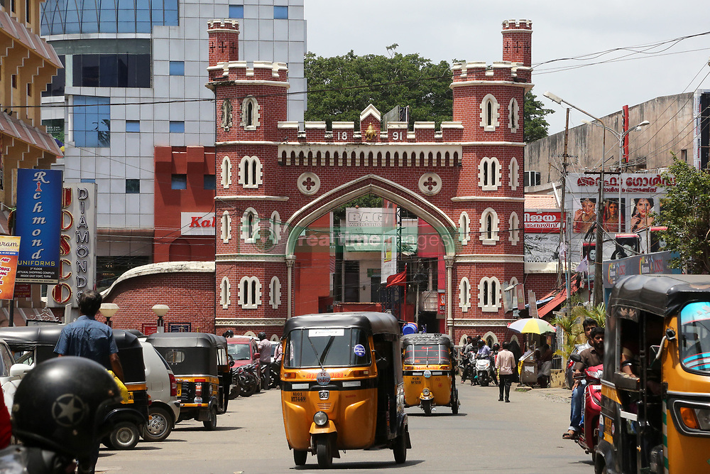 July 26, 2018 - Thiruvananthapuram, Kerala, India - East Fort gateway in the city of Thiruvananthapuram (Trivandrum), Kerala, India, on July 26, 2018. (Credit Image: © Creative Touch Imaging Ltd/NurPhoto via ZUMA Press)