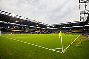 General View of stadium during the Europa League quarter-final match between Wolverhampton Wanderers and Sevilla at Schauinsland-Reisen MSV-Arena, Duisburg, Germany on 11 August 2020.
