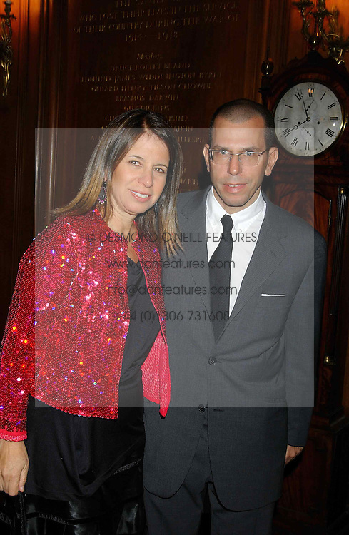 MR & MRS JONATHAN NEWHOUSE at a party to celebrate the publication of 'Princesses' the six daughters of George 111 by Flora Fraser held at the Saville Club, Brook Street, London W1 on 14th September 2004.<br /><br />NON EXCLUSIVE - WORLD RIGHTS