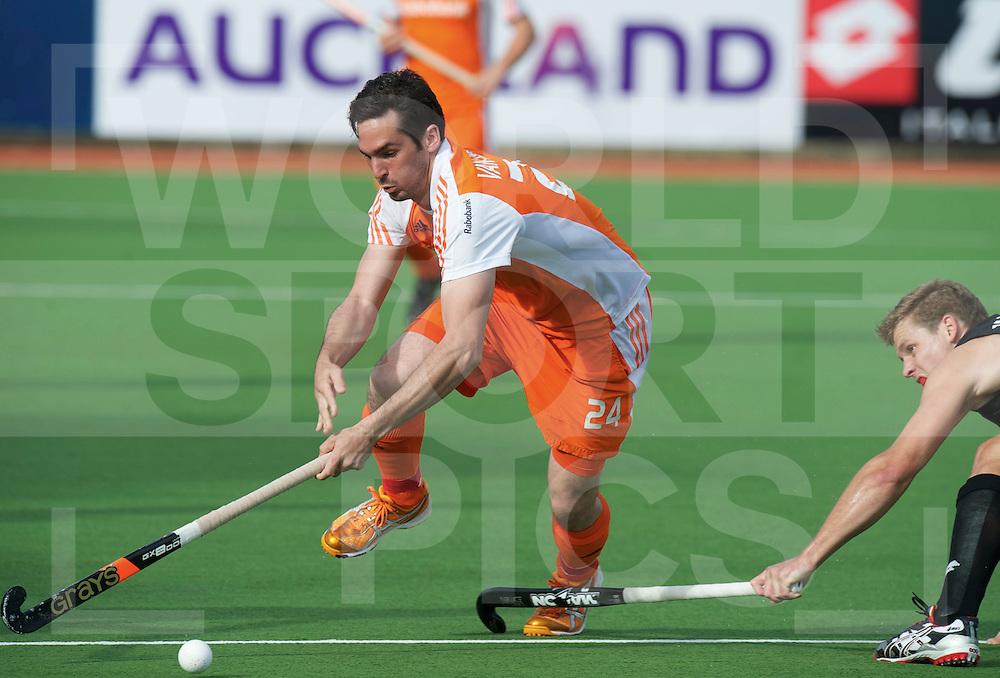 AUCKLAND - Champions Trophy men.Netherlands v New Zealand.foto:  Robert van der Horst..FFU Press Agency  COPYRIGHT FRANK UIJLENBROEK..