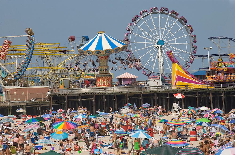 Casino Pier at Seaside Heights Amusement Park, NJ