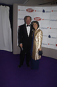 Mr. and Mrs. Michael Buerk. British Red Cross London Ball,- H20 the Element of Life held at the Room By the River. SE1. 17 November 2005. ONE TIME USE ONLY - DO NOT ARCHIVE  © Copyright Photograph by Dafydd Jones 66 Stockwell Park Rd. London SW9 0DA Tel 020 7733 0108 www.dafjones.com